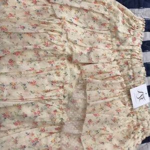Love shack fancy Genevieve skirt size medium